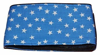 dog belly band blue star fabric puppy adult male stud boys spraying marking stop