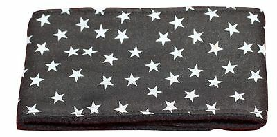 **Buy 2 get 1 free**dog belly band puppy wrap black stars fabric stop spray wee