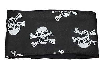 dog puppy male stud dog belly band wrap nappy skulls fabric washable reusable