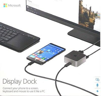 Microsoft Display Dock HD-500 Docking Station für Nokia Lumia 950 / 950 XL