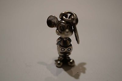 Nice Vintage Sterling Silver Disney Mickey Mouse Charm  A148