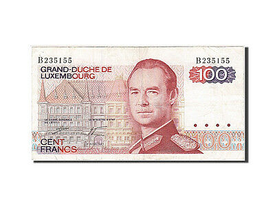 Luxembourg, 100 Francs, 1980, 1980-08-14, KM:57a, AU(50-53)