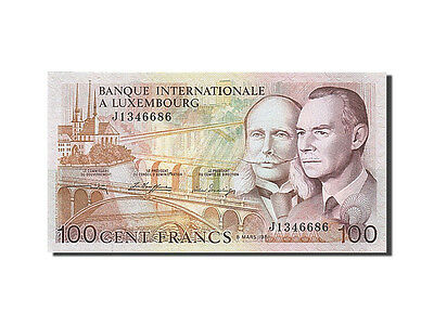 [#261562] Luxembourg, 100 Francs, 1981, 1981-03-08, KM:14A, UNC(65-70)