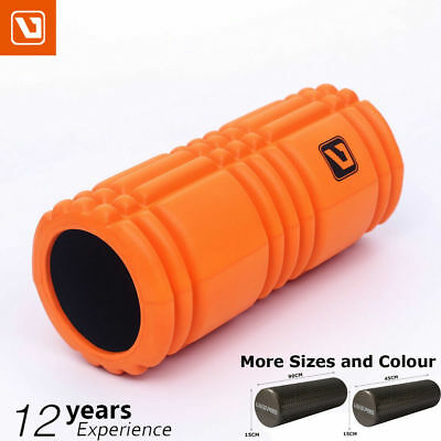 Eva Physio Foam Roller Yoga Pilates Gym Exercise Trigger Massage 33/45/90 x 15CM