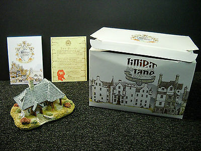 Lilliput Lane Kenmore Cottage 1989 From The Scottish Collection NIB & Deeds #487