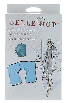 Belle Hop Inflatable Neck rest Deluxe Travel Pillow Blue
