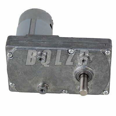 Sliver 24V 20RPM Square Metal High Torque Gearbox Electric Drive Motor