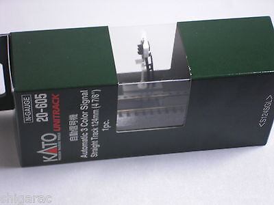Kato n scale 20-605 Automatic 3 Color Signal Straight Track 124mm 1pc / n gauge