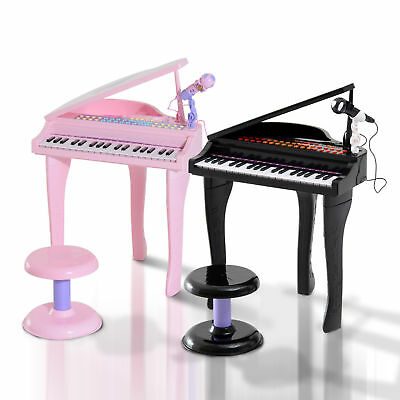 Kinder Klavier Piano Keyboard Musikinstrument MP3 USB 37 Tasten mit Hocker 2 Typ