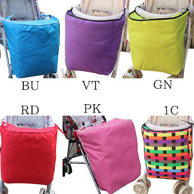 Baby Stroller Hood Socks Windproof Cotton-padded Rain Cover Trolley Foot Cover
