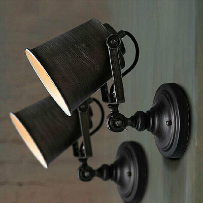 Vintage Retro Industrial Loft Rustic Wall Sconce Wall Lights Porch Lamp 1101HC