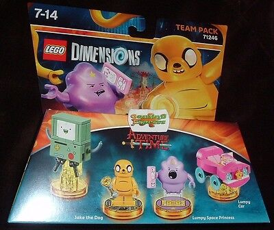 Lego Dimensions Adventure Time Team Pack NEW SEALED All Formats