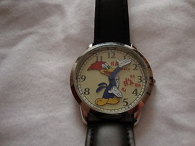 New Collectible   Woody Woodpecker Fossil Watch   Limited Edition