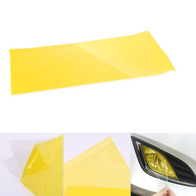 "Car Fog Tail Headlight Light Tint Film Vinyl Wrap Cover 12 x 24"" Golden Yellow"