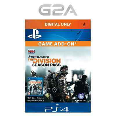 Tom Clancy's The Division Season Pass DLC Key [PS4] Playstation Network Code UK