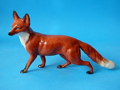 Collectable Early Rare Light 1St Version Vintage Gloss Beswick Red Fox Hunt 1016