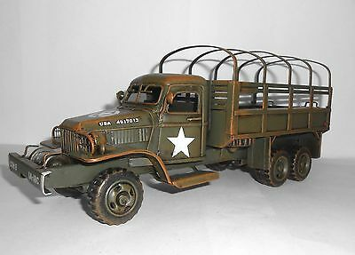 King and Country tinplate army truck GMC CCKW 353 TP001 unused in box old stock