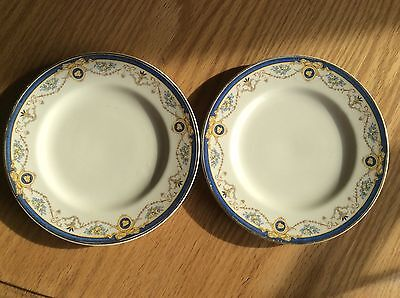 Lot Of 2 Antique Bredon Fruit Plates By J. & G. Meakin, England