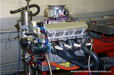 Big Block Chevy All Aluminum Professional Drag Race Engine 1,900hp+ Dyno Tuned