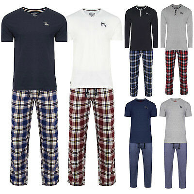 13ff7cc36 Tokyo Laundry Mens Lounge Wear 2 Piece New Soft Cotton Tops And Bottoms  Pyjamas