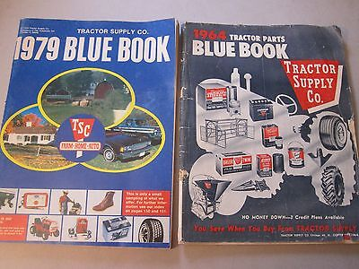 1964 & 1979 Tractor Supply Parts Blue Book Farm Home Auto LOTS More Listed