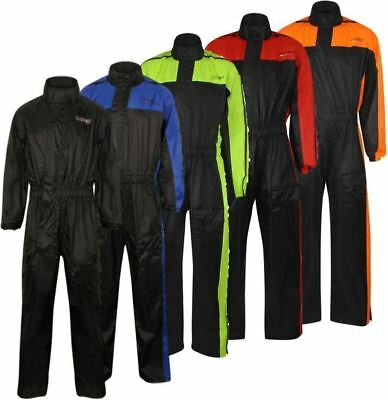 MBSmoto MR31 PYTHON RAINSUIT PULL OVER ONE PEICE OUTDOOR FISHING MOTORCYCLE BIKE