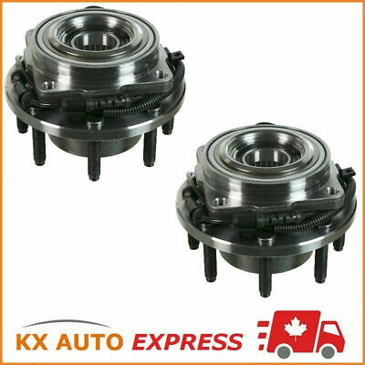 2X Front Wheel Bearing Hub Assembly For Ford F-350 S-Duty 4Wd Srw 2008 2009 2010