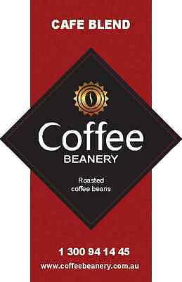 RCoffee Beanery Cafe Blend Roasted Coffee Beans. 1 Kilo