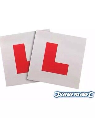 2x Fully Magnetic L Plate Kit / Learning Plate - Ford B-Max