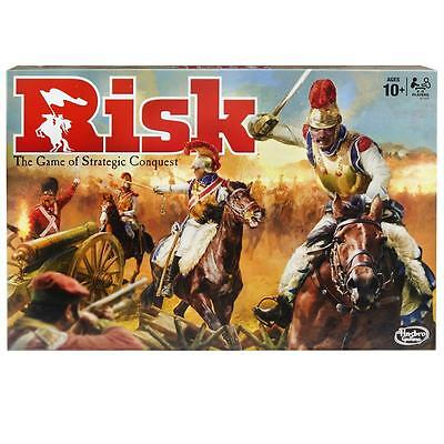 New Hasbro Risk The Game Of Strategic Conquest Board Game - B7404