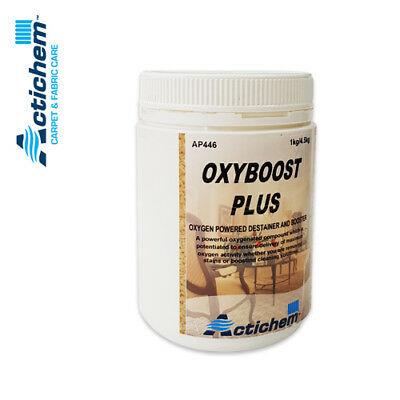 Actichem 1Kg Carpet & Fabric AP446 OxyBoost Plus - Powerful oxygenated compound