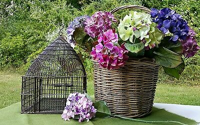 Antique/Vintage Iron Domed Top Birdcage - Great Collectable - Primitive