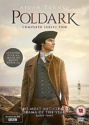 Poldark - Season Series 2 DVD New Sealed R4