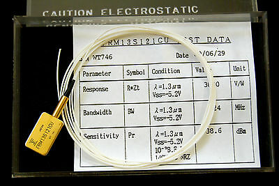 Photo Diode - Fiber Optic InGaAs Photo Diode with Preamp Receiver