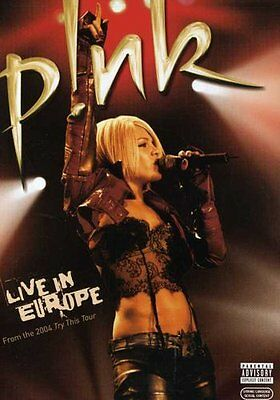 Pink: Live in Europe (2006, DVD NEUF) Explicit Version (RÉGION 1)