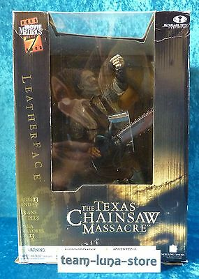 "Movie Maniacs McFarlane Figur Leatherface 12"" 30cm / Texas Chainsaw Massacre ovp"