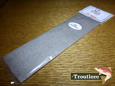 Ep Fibers Grey Enrico Puglisi - New Fly Tying Wing & Body Material