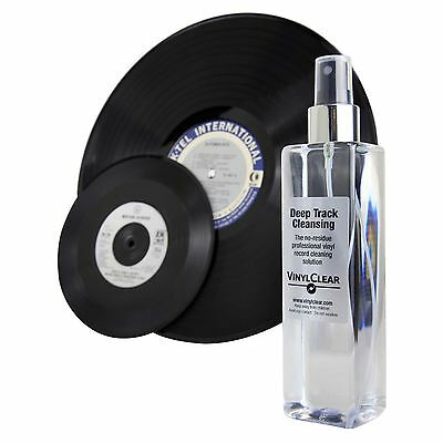 VinylClear Vinyl Record Cleaner LP Antistatic Spray Solution 250ml