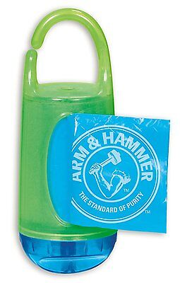 Munchkin Arm And Hammer Baby Diaper Bag Dispenser Perfect For Stroller Car Home