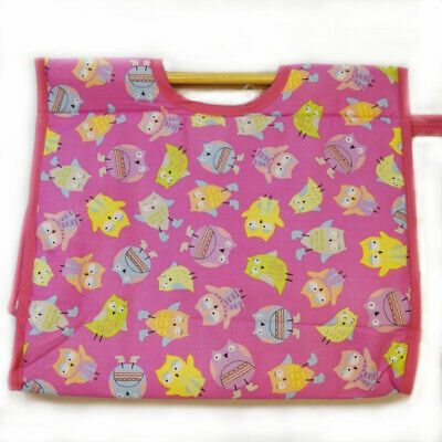Owls In Scarves & Boots Tossed On Cerise Classic Sewing Knitting Craft Bag