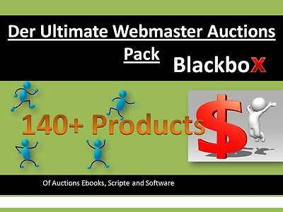 Der Ultimate Webmaster Auctions Pack 140+ Products/ Ebooks/ Software MMR/PLR