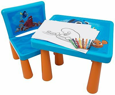Finding Dory Sit And Colour Desk Kids Fun Drawing Art Table Xmas Gift Creative