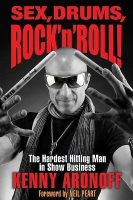 Sex Drums Rock 'n' Roll The Hardest Hitting Man in Show Business Book  000140763