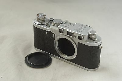 Leica IIF Red Dial Screw Mount Camera Body CLA'd  in Ext Cond., 2f #821600