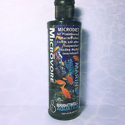 Brightwell Aquatics MicroVore Microdiet for Planktivorous Marine Fishes Corals