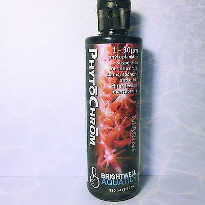 Brightwell Aquatics PhytoChrom Phytoplankton Suspension for Soft Corals Clams