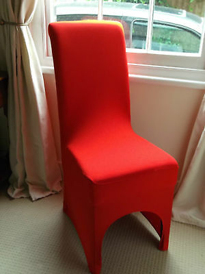 Dining Room Chair Covers RED NEW Stretch for Xmas Parties Weddings  Events