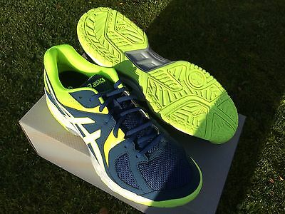 ASICS GEL HUNTER   SQUASH SHOES . size  9 UK   BRAND NEW