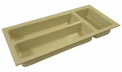 Caravan Camper Small Drawer Cutlery Tray - Ivory