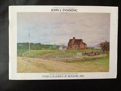JOHN J. ENNEKING Vose Galleries 1975 Exhibition & Sale Booklet